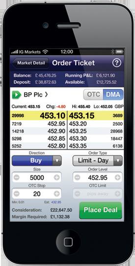 IG Mobile Platform